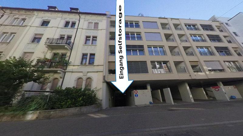 Selfstorage Basel, Klybeckstrasse