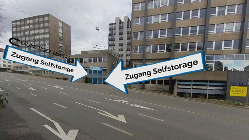Selfstorage Bern, Laupenstrasse